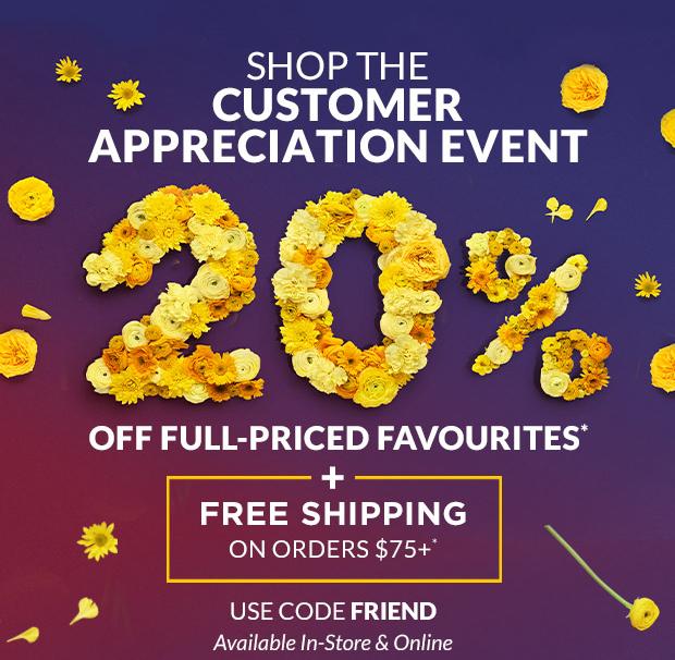 L'Occitane Canada 2020 Friends and Family Customer Appreciation Event Canadian Deals Sale - Glossense