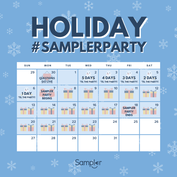 Sampler Canada December 2020 SamplerParty Coming Soon NEW Canadian Freebies Free Samples Coupons Questions Launch Today - Glossense