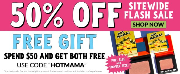 The Balm Cosmetics Canada 2020 Black Friday Sale Free Hot Mama Bundle Canadian Deals Promo Code - Glossense