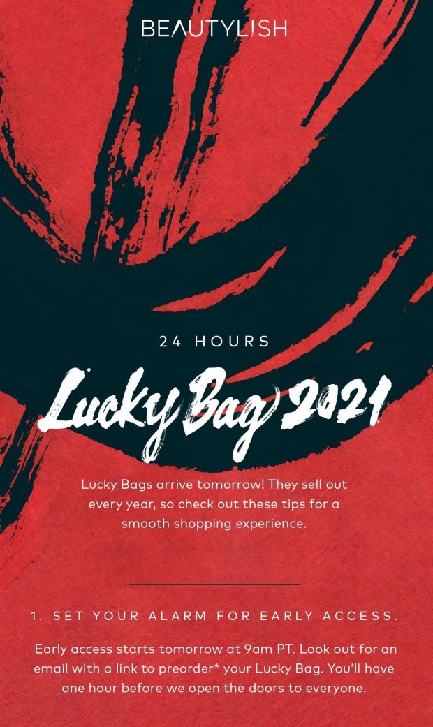 Beautylish Canada Lucky Bags 2021 Launches Boxing Day 2020 - Glossense