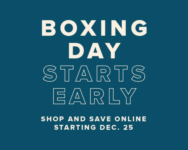 Hudson's Bay Canada 2020 Boxing Day Sale Canadian Deals - Glossense