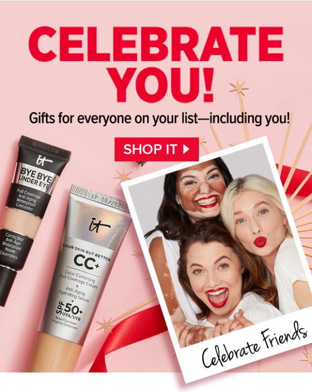 IT Cosmetics Canada 2020 Boxing Day Sale Save on Gift Sets Canadian Deals - Glossense