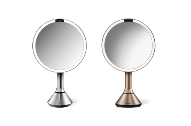 Nordstrom Canada SimpleHuman Eight inch Sensor Makeup Mirror Only 200 Free Shipping Canadian Deals Sale - Glossense