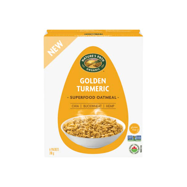 Shopper Army Canada Mission Apply to Try Review Nature's Path Golden Turmeric Superfood Oatmeal for Free - Glossense