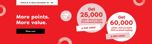 Shoppers Drug Mart Canada More Points More Value Shop Get Up to 60000 PC Optimum Points - Glossense