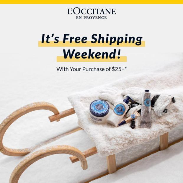 L'Occitane Canada Free Shipping Any 25 Order 2021 Canadian Deals - Glossense