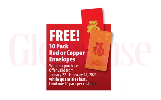 London Drugs Canada Free Lunar New Year Envelopes 2021 Canadian Deal - Glossense