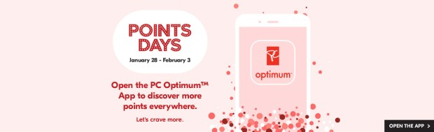 PC Optimum Canada Points Days 2021 Canadian Deals Loyalty Program - Glossense