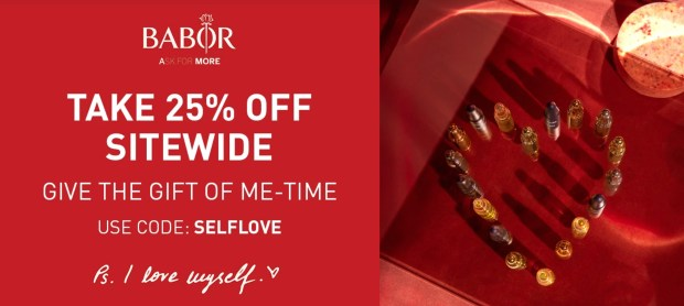 Babor Canada Valentine's Day Sale 2021 Canadian Deals - Glossense