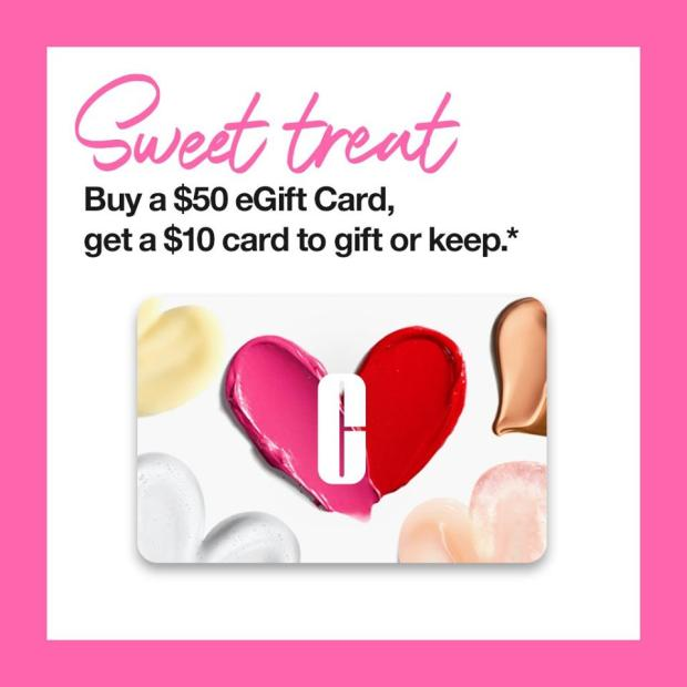 Clinique Canada Sweet Treat Free Gift Card Valentine's Day 2021 Offer - Glossense