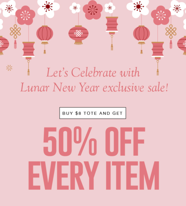 Laline Canada Lunar New Year Sale 2021 Buy Tote Get 50 Off Everything - Glossense