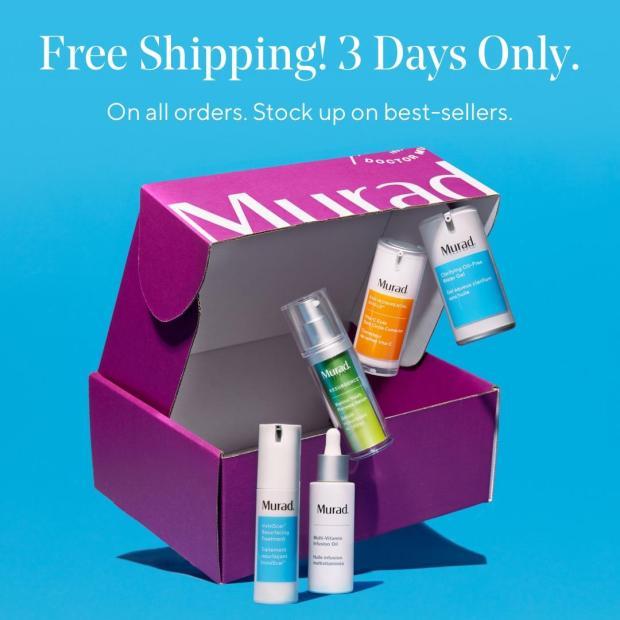 Murad Skincare Canada Free Canadian Shipping Feb 2021 - Glossense