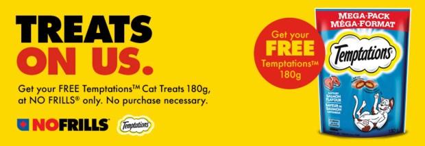 No Frills Canada Free Temptations Cat Treats - Glossense