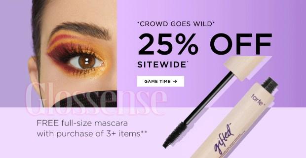 Tarte Cosmetics Canada Superbowl Game Day 2021 Canadian Deals Promo Code - Glossense.jpg