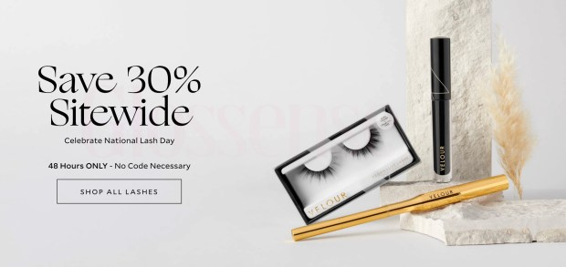 Velour Beauty Canada National Lash Day 2021 Sale Canadian Deals - Glossense