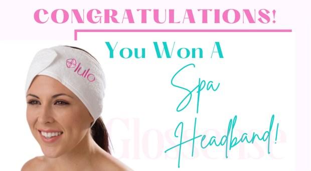 Canadian Freebies Free Lulo Spa Headband - Glossense