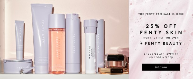 Fenty Beauty Canada Friends Family Fenty Skin Sale 2021 Canadian Deals - Glossense