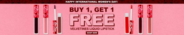 Lime Crime Canada International Women's Day BOGO Lip Sale 2021 - Glossense