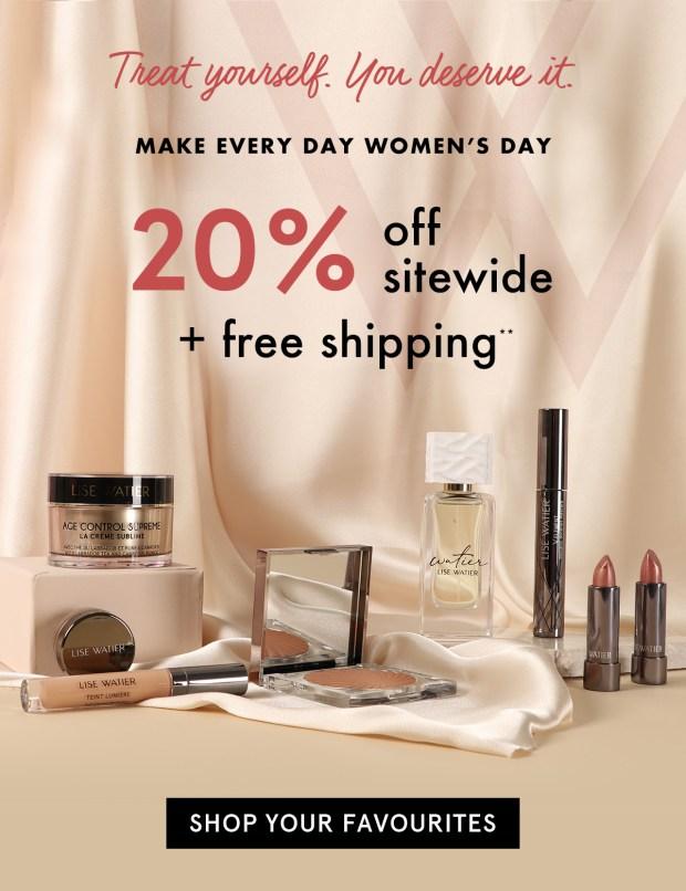 Lise Watier Canada International Women's Day 2021 Sale Canadian Deals - Glossense