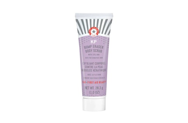 Sephora Canada Free First Aid Beauty KP Bump Eraser Body Scrub Deluxe Mini Sample - Glossense