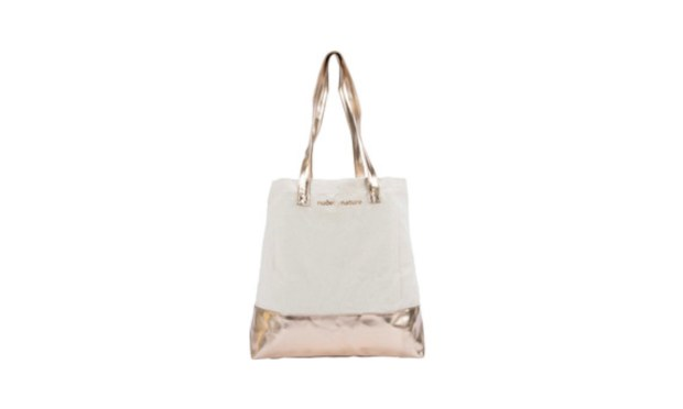 Shoppers Drug Mart Canada Free Nude by Nature Rose Gold Canvas Tote Bag 2021 GWP - Glossense