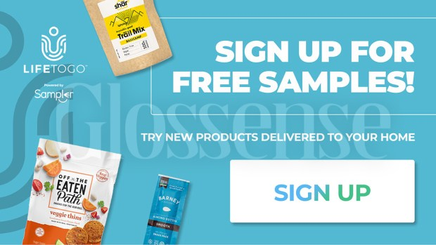 Canadian Freebies Free LifeToGo Samples April 2021 - Glossense