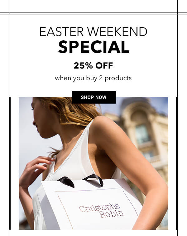Christophe Robin Canada Easter Weekend Special Canadian Deals 2021 - Glossense