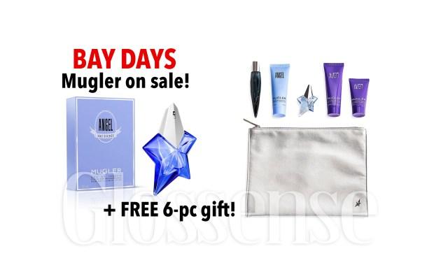 Hudson's Bay Canada Bay Days Canadian Deals Free Mugler Gift - Glossense