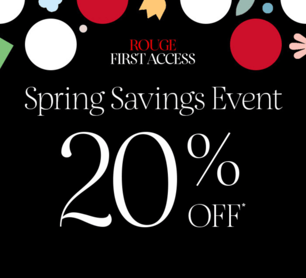 Sephora Canada First Access Rouge Bonus Sale Savings Event Spring Sale 2021 - Glossense