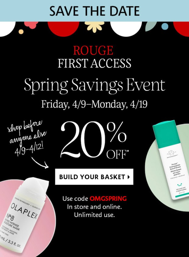 Sephora Canada Rouge Sale First Access Canadian Deals Spring 2021 - Glossense