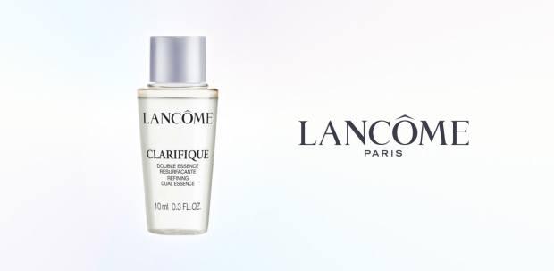 Shoppers Drug Mart Canada Free Lancome Clarifique Dual Facial Essence Deluxe Mini Sample - Glossense
