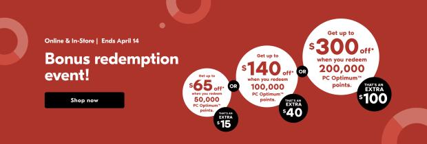 Shoppers Drug Mart Canada Spend Your Points Bonus Redemption Event April 2021 - Glossense