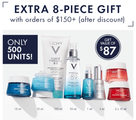 Vichy Canada Free FnF Spring 2021 Extra Gift - Glossense