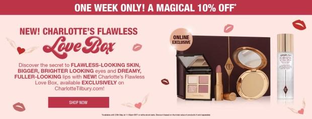 Charlotte Tilbury Canada Flawless Love Box Canadian Deals - Glossense