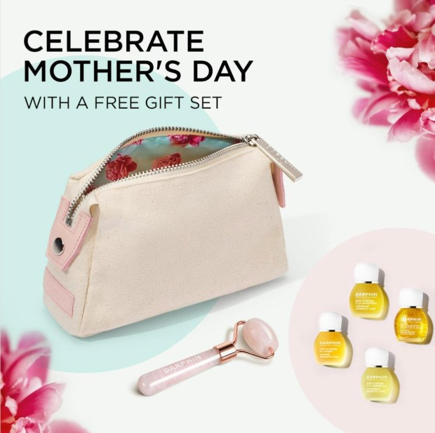 Darphin Canada Free Mother's Day Gift Set Offer Canadian Deals - Glossense