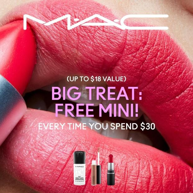 MAC Cosmetics Canada Big Treat Free Mini Canadian Deals - Glossense