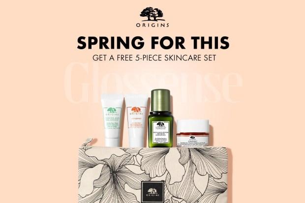 Origins Canada Free Spring Skincare Kit 2021 Canadian Deals - Glossense