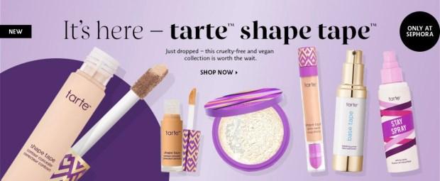 Sephora Canada Tarte Cosmetics Shape Tape NEW - Glossense