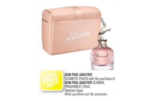 Shoppers Drug Mart Canada GWP Free Jean Paul Gaultier Pouch - Glossense
