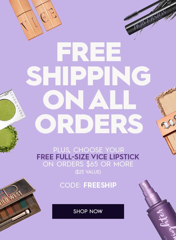 Urban Decay Cosmetics Canada Free Shipping Victoria Weekend May 2021 - Glossense