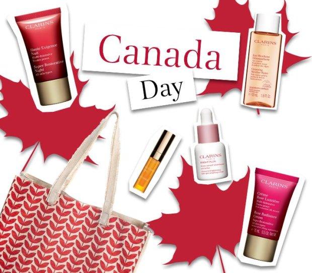 Clarins Canada Free Canada Day Beauty Blast 6-pc Gift 2021 - Glossense