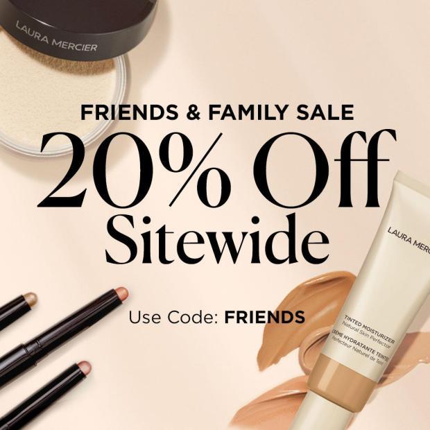 Laura Mercier Canada Friends Family Sale Canadian Summer Deals 2021 - Glossense