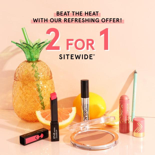 Annabelle Cosmetics Canada Summer Sale 2021 2 for 1 Sitewide - Glossense