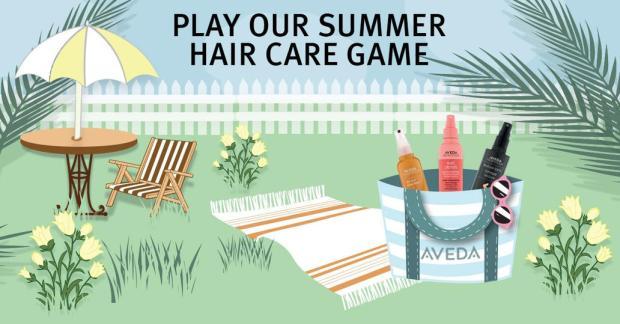 Aveda Canada Play Summer Game Win Discount or Freebie Offer - Glossense