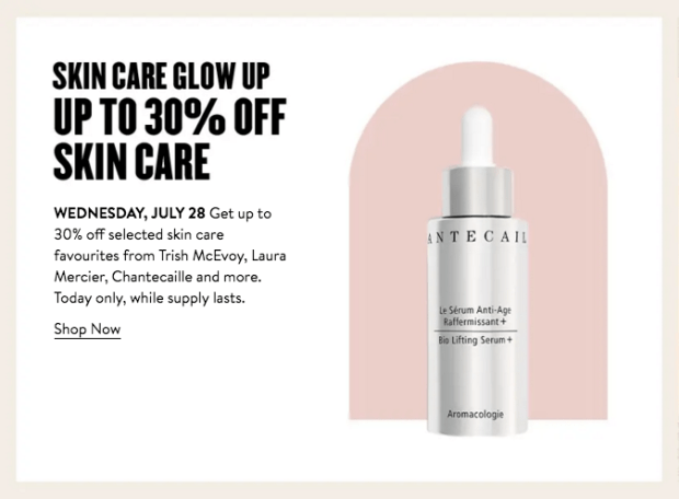 Nordstrom Canada Glam Up Days 2021 Canadian Deals Day 1 - Glossense