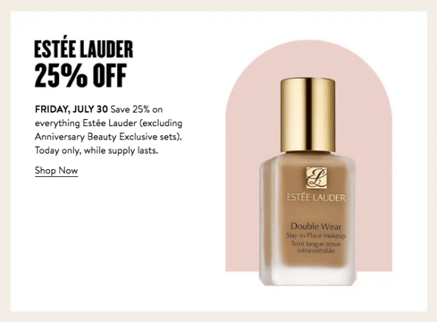 Nordstrom Canada Glam Up Days 2021 Canadian Deals Day 3 - Glossense