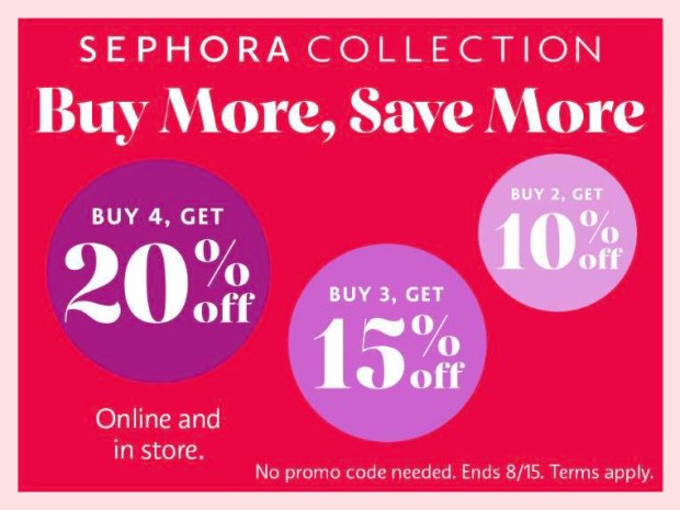 Sephora Canada Buy More Save More Promo Summer 2021 - Glossense