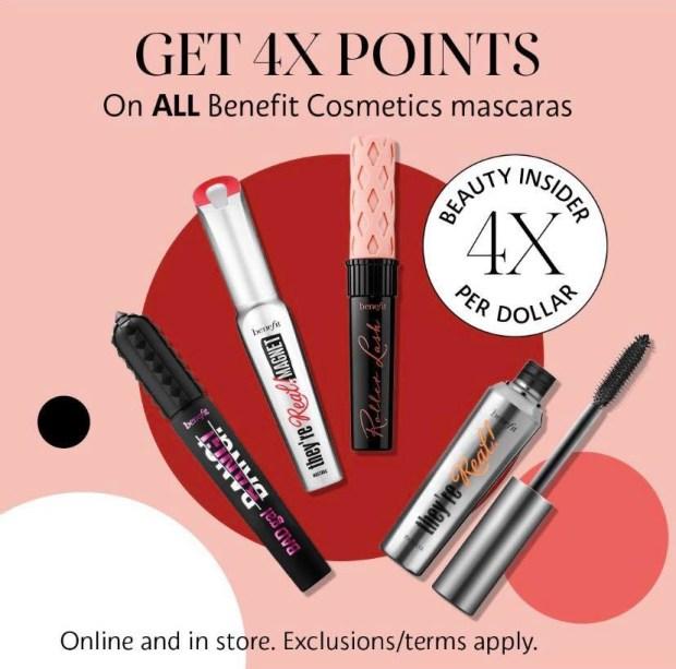 Sephora Canada Promo Code Shop Benefit Cosmetics Mascaras Get 4x Beauty Insider Points - Glossense