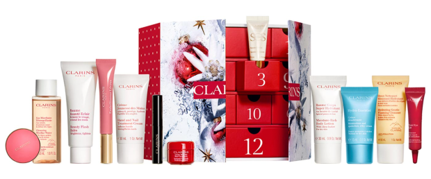Clarins Canada 12 Day 2021 Canadian Christmas Holiday Beauty Advent Calendar Countdown Unboxing - Glossense