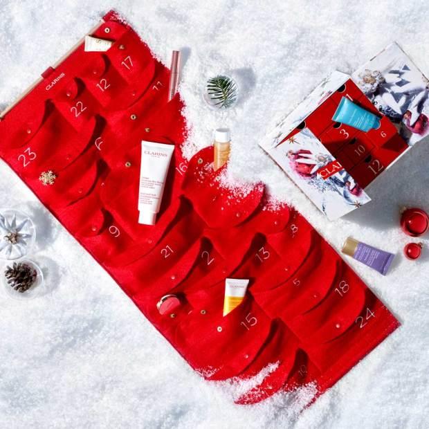 Clarins Canada 2021 Advent Calendar Canadian Holiday Countdown 24 Days - Glossense